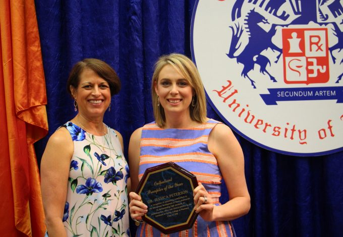 Jessica Peterson, outpatient preceptor of the year